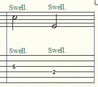 ボリューム奏法